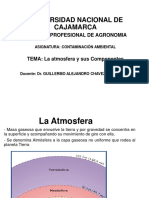 Clase 2. La Atmosfera y Sus Componentes