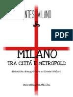 Milano Tra Città e Metropoli
