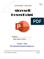 Manual Primero PowerPoint Excel
