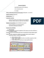 Planificacion de Evaluación MATEMATICA