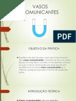 VASOS COMUNICANTES 1