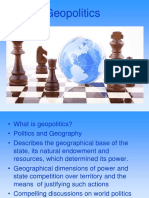 Geopolitics and Strategic Culture