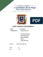 Informe de La Leche