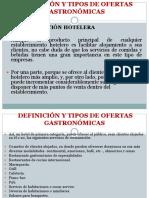 Tipos de Ofertas Gastronómicas (2)