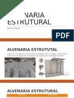 PATOLOGIAS NA ALVENARIA ESTRUTURAL