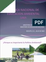 POLITICA_NACIONAL_EDUCACIÓN_AMBIENTAL._Yesenia_C.ppt