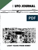 MUFON UFO Journal - April 1987