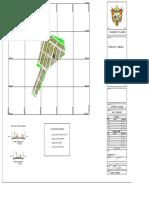 Plano proyecto de viviendas