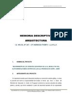 01. Memoria Des. Arquitectura INICIAL