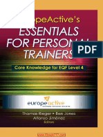 EuropeActive's Essentials of Personal Training