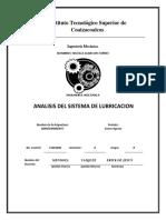 analisis de lubricacion