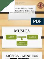 La Música Como Estrategia Umsa