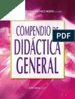 Compendio de Didáctica General - Juan Carlos Sánchez Huete
