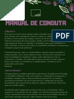 Manual de Conduta