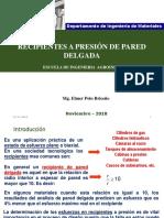 2. Recipientes a Presion 2018