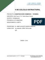 Memoria Calculo Estructural 1302
