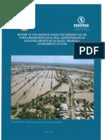 4104 Informe de Evaluacion de Riesgo Por Desborde Del Rio Piura e Inundacion Pluvial en El Centro Poblado de Catacaos Distrito de Catacaos Provincia y Depa