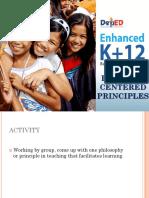 2 - Learner-Centered Principles