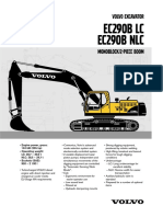 Volvo Ec290spec