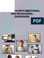 Students with emotional and behavioral disorder