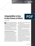 Adaptability is Key in the Future of Work