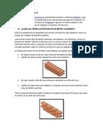 Aporte unitario de materiales de construccion