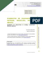 innovacion hotelera