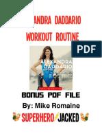 Alexandra Daddario PDF