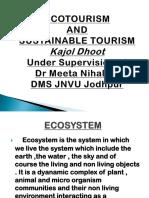 Eco Tourism Dr Meeta Nihalani Kajol Dhoot