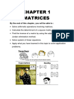 Chapter 1 Module Matrices