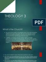 Church, Sacraments and Liturgy