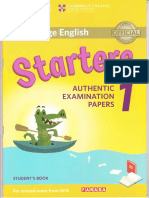 Starters 1 authentic examination papers