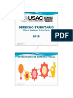 Estrategias de Defensa Fiscal.2019