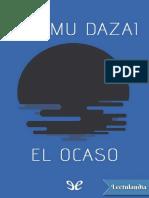 El Ocaso - Osamu Dazai