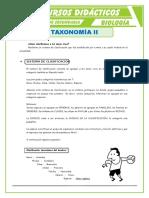 recurso didáctico taxonomía iI