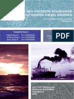 T3_NOx Emission Standards for Marine Diesel Engine