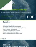 Arbor APS STT_Unit 09_Cloud Signaling_25Jan2018