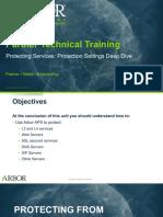 Arbor APS STT_Unit 11_Protection Setting Details_25Jan2018