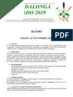 Bando Vogadalonga Grado 2019
