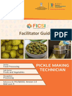 FG FICQ0102 Pickle Making and Processing Technician 15-12-2017