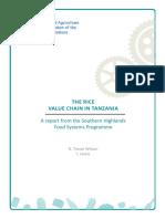 Report on TanzaniaRice
