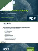 Arbor APS STT_Unit 12_Arbor APS Administration_25Jan2018pptx