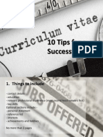 10 tips for writing CV.pdf