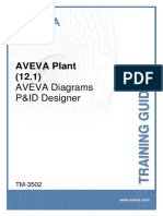 TM-3502 AVEVA Plant (12.1) Diagrams PID Designer Rev 1.0