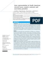Nature Representations in South American Protected Areas_country Contrast and Conservation Priorities