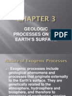 Geologic Processes on Earth's Surface