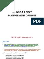 005 Sludge & Reject Management Options