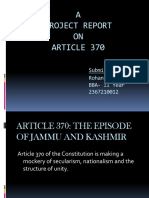 Article 370 Ppt Pptx