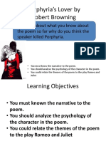 Browning - Porphyrias Lover