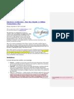 SalesForce Architecture - Case Study